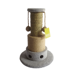 Scrunch and Sticks Scrunch And Sticks Cat Scratch Post Double Ball Seagrass