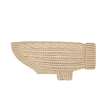 Sebastian Says Sebastian Says Dog Sweater Merino Wool Cable Knit Oat