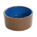 Small Animal Care Small Animal Care Bowl Ceramic Blue Deep
