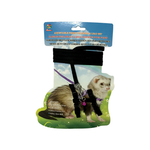 Small Animal Care Small Animal Care Harness And Lead Set Ferret Black