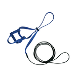 The Aviator The Aviator Harness And Leash Blue