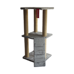 The Catsentials The Catsentials 3 Tier Jute Springboard With Ladder