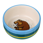 Trixie Trixie Ceramic Bowl Guinea Pigs