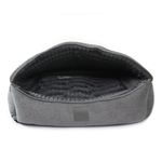 TS Pet Products Ts Canopy Plush Bed Grey