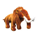 Tuffy Tuffy Mighty Toy Arctic Series Woody Wooly Mammoth