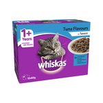 Whiskas Whiskas Wet Cat Food Adult Tuna Flavours Sauce 12 x 85g