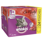 Whiskas Whiskas Wet Cat Food Pouch So Meaty Meat Cuts
