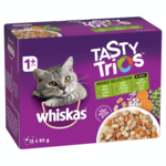 Whiskas Whiskas Wet Cat Food Tasty Trios Mixed Selection