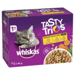 Whiskas Whiskas Wet Cat Food Tasty Trios Poultry Selection