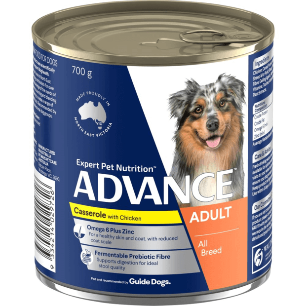 advance-adult-casserole-with-chicken-wet-dog-food-cans primary