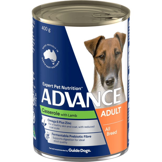 advance-adult-casserole-with-lamb-wet-dog-food-cans primary