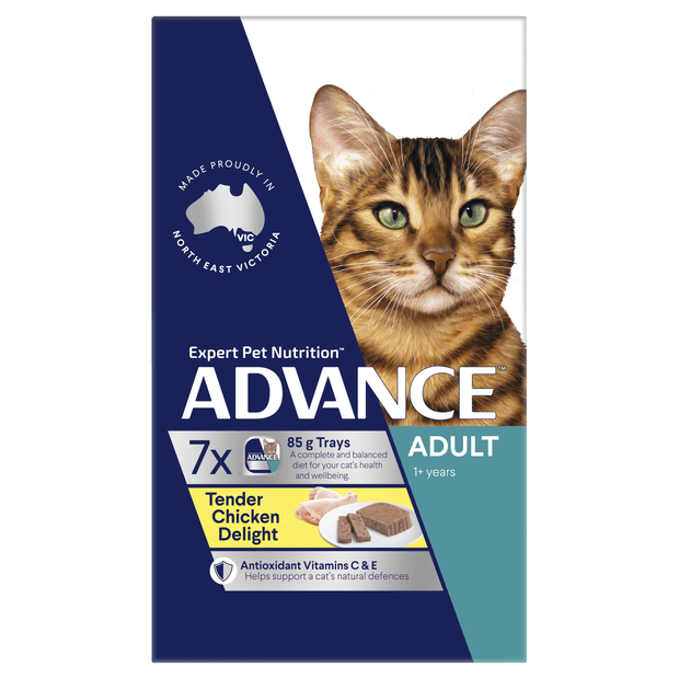 advance-adult-tender-chicken-wet-cat-food-trays primary