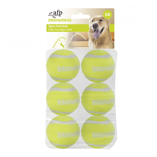 Afp Interactive Maxi Fetch Super Bounce Tennis Ball Primary