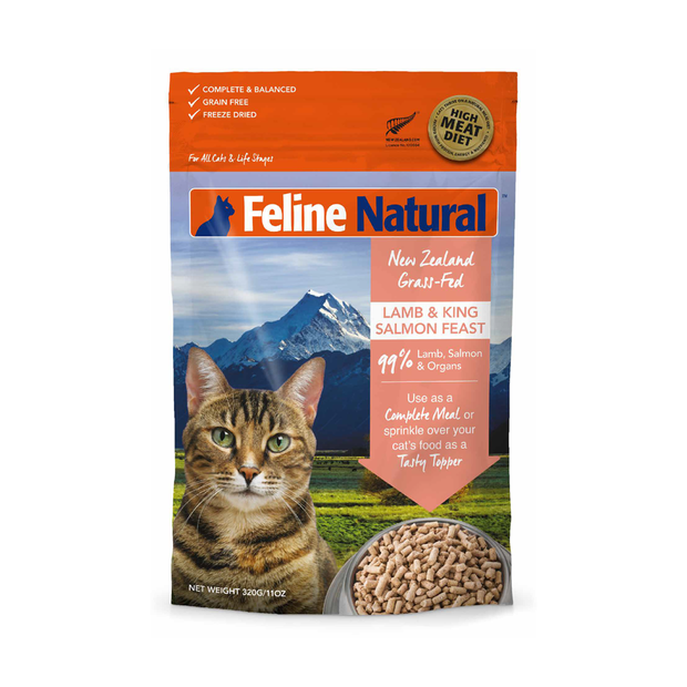 feline-natural-lamb-and-salmon-freeze-dried-cat-food primary