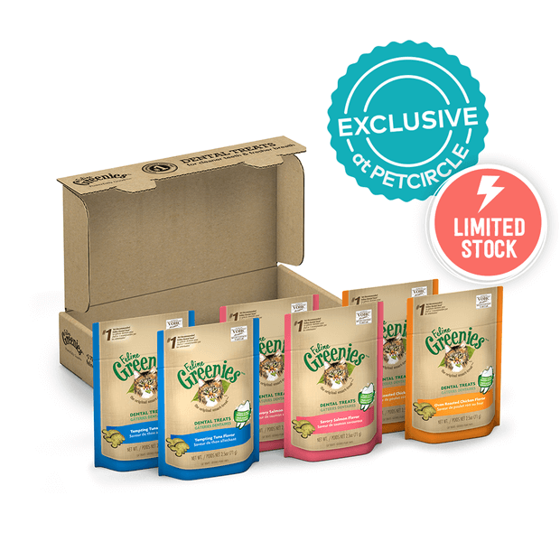 Greenies Feline Treat Box