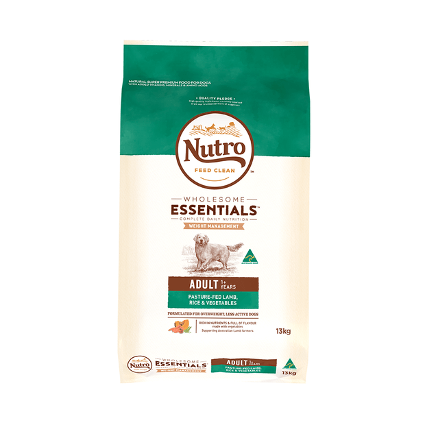 nutro-wholesome-essentials-dry-dog-food-adult-weight-management-lamb-and-rice primary