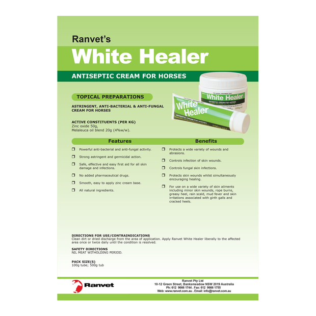 Ranvet White Healer Antiseptic Cream | Pet Circle