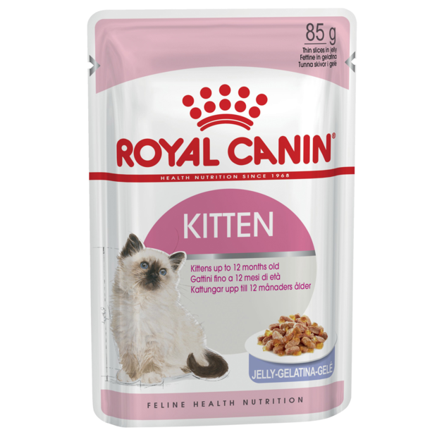 Royal Canin Kitten Instinctive Jelly Wet Cat Food Pouches
