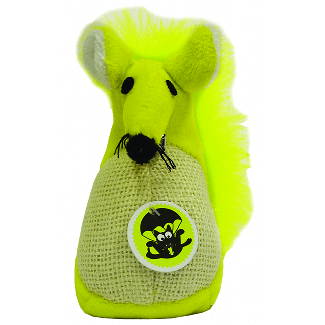 scream-cat-toy-fatty-mouse-green primary