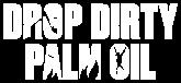 Drop dirty palm oil