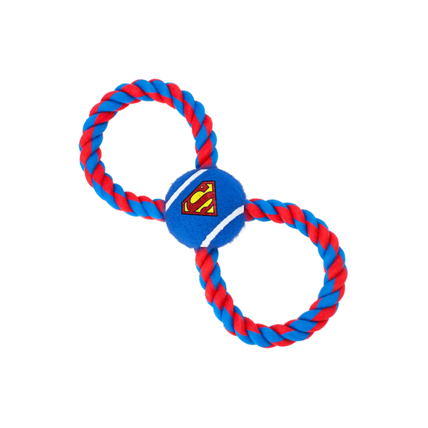Buckle-Down Pelota De Tennis más Cuerda Superman