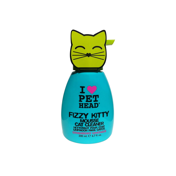 I Love Pet Head Fizzy Kitty Mouse Cleaner