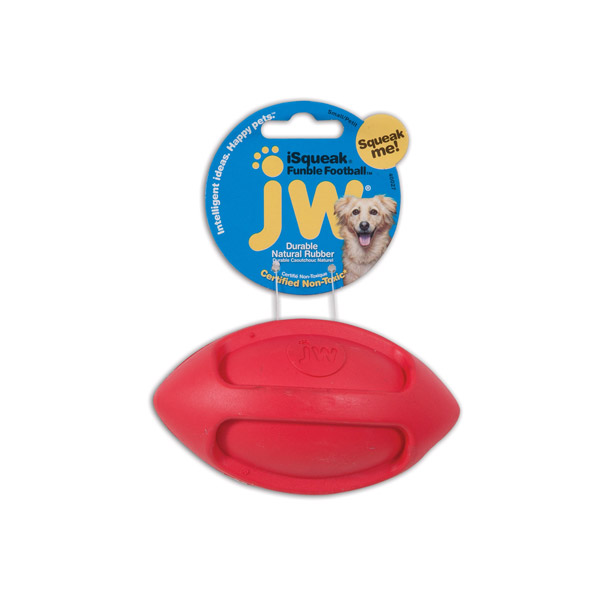 JW Isqueak Funble Football Small