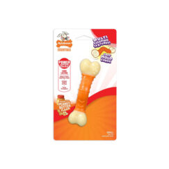 Nylabone Power Chew Peanut Butter Wavy Bone Small