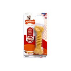 Nylabone Power Chew Texture Bone Regular Sabor Pollo Talla M