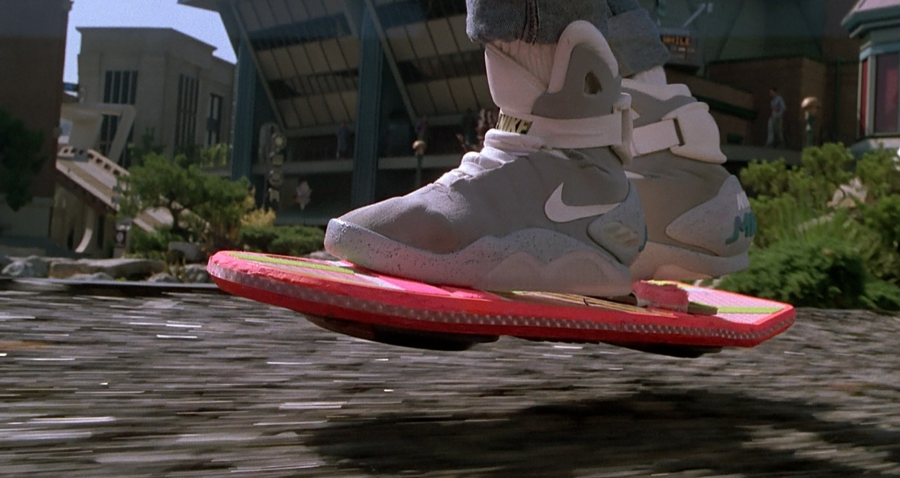 The future is hoverboards!