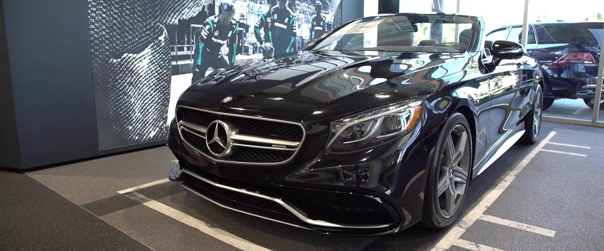 Mercedes-Benz of Bonita Springs AMR® showroom