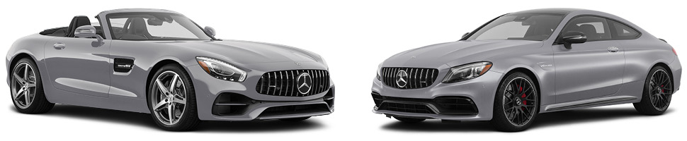 Mercedes-Benz AMG® lineup silver