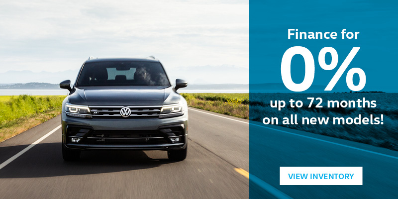 Finance for 0% up to 72 months on all new models!