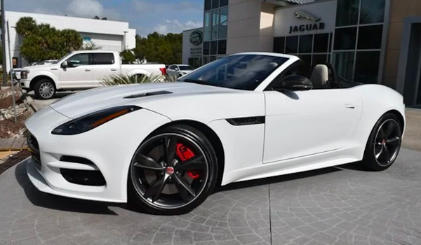 2020 JAGUAR F-TYPE R CONVERTIBLE