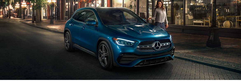 2021 GLA - Blue Exterior