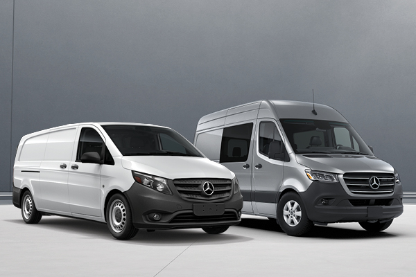 2019 Mercede-Benz Metris & Sprinter Passenger Van