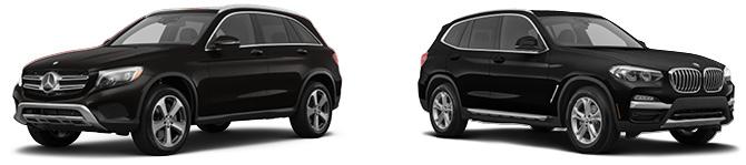 2019 Mercedes-Benz GLC 300 vs 2019 BMW X3 xDrive30i