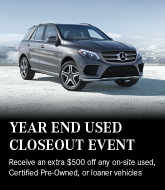 Mercedes-Benz of Massapequa Year End Used Closeout Event