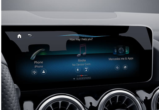 2021 GLA - Console Display