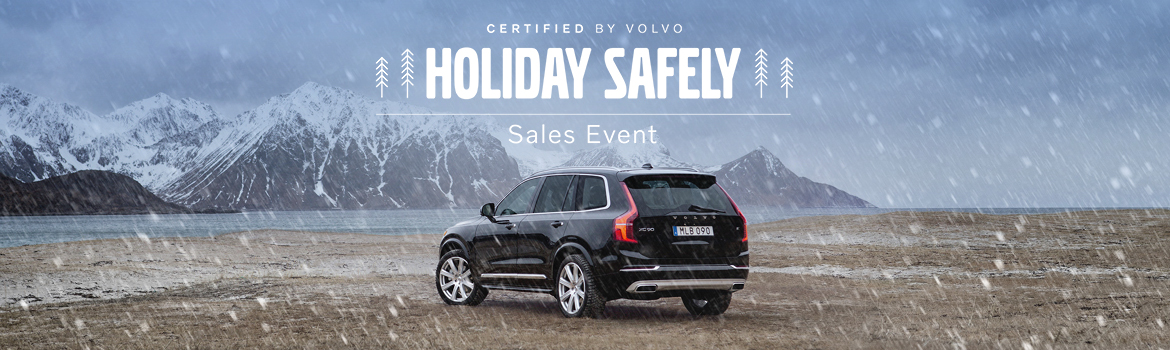 Volvo Holiday Safely Sales Event