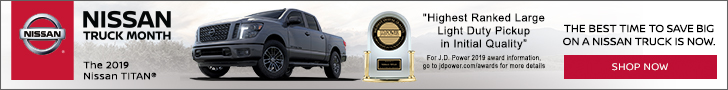 Nissan Truck Month Sales Event