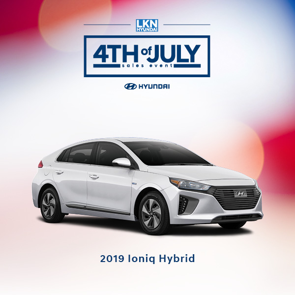 4th of July Ioniq