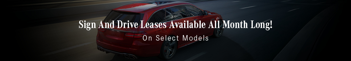 Sign And Drive Leases Available