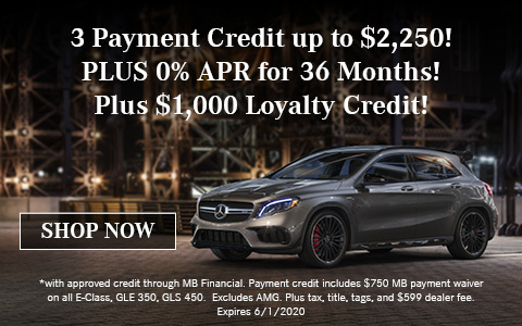 3 Payment Credit up to $1,500!