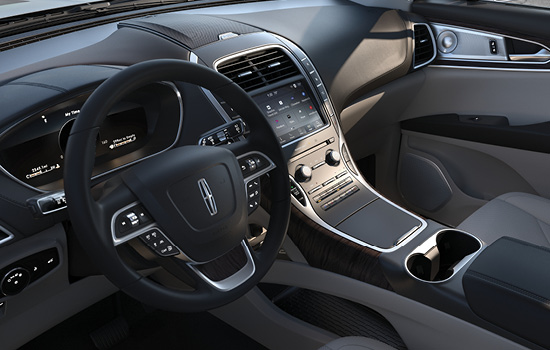 2020 Lincoln Nautilus Interior