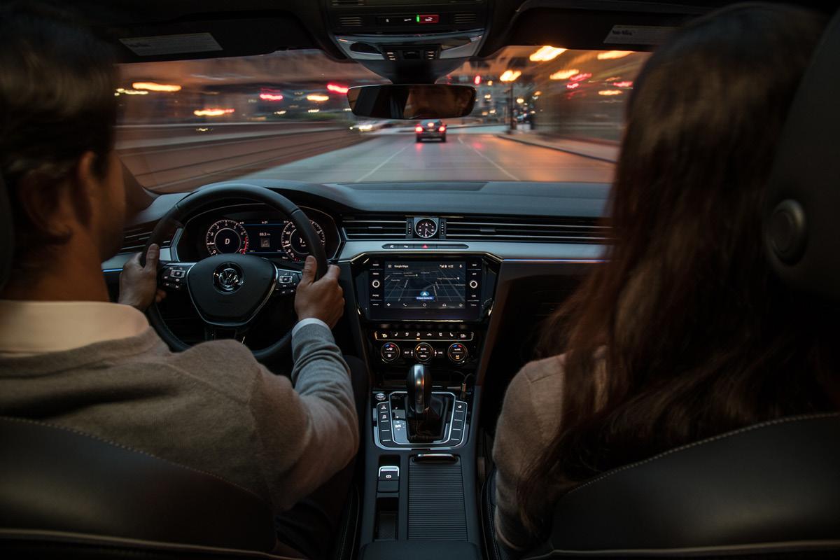 Driving the Volkswagen Arteon