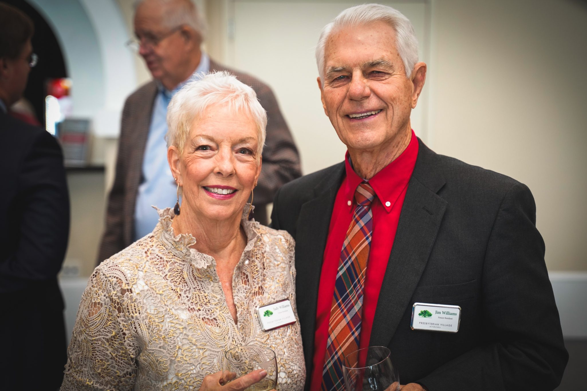 A photo of Jim and Judy Williams