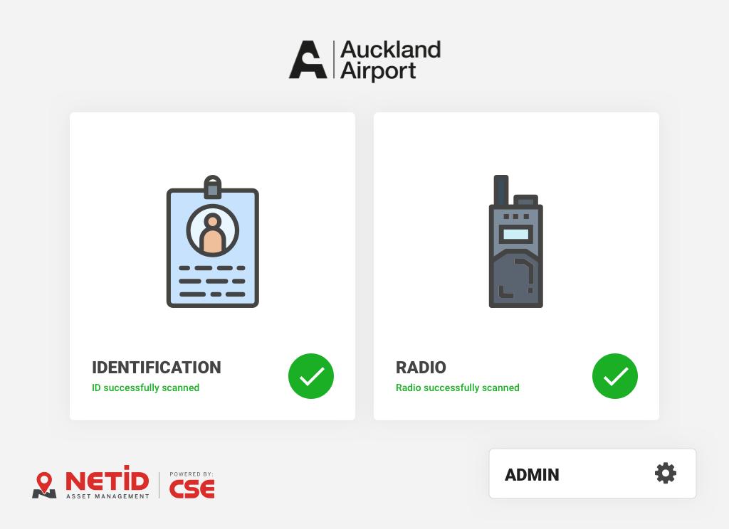 Enterprise Radio Management Website Screenshot