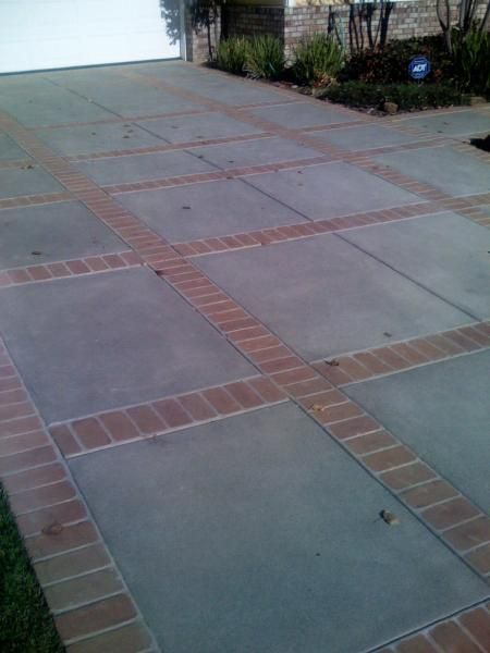 24 awesome diy driveway projects concrete driveway click here to see how to diy solutioingenieria Choice Image