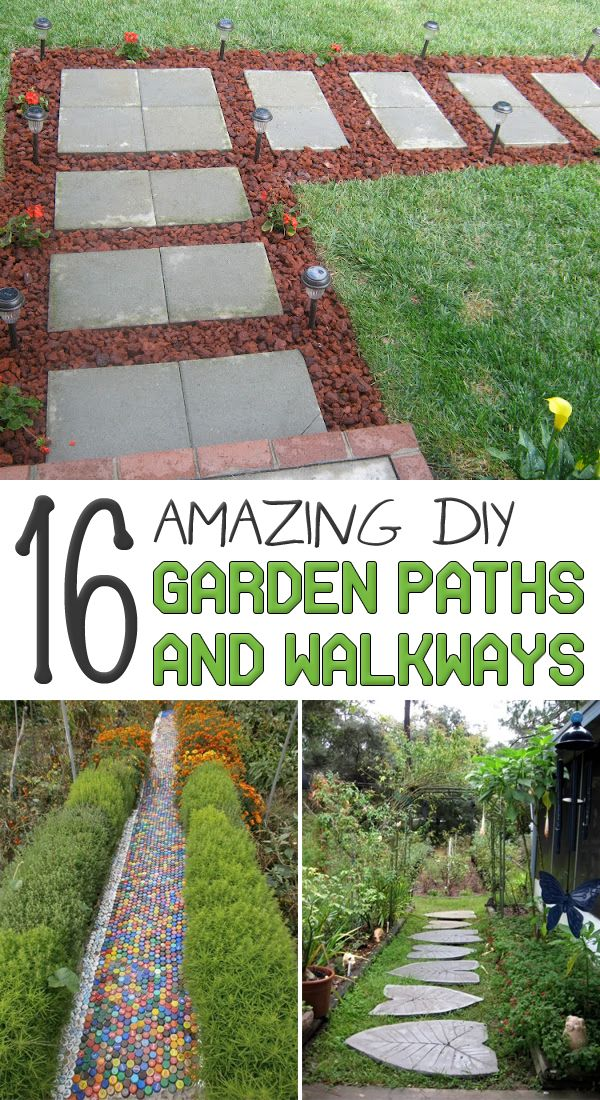 Here Are 16 Amazing DIY Garden Paths And Walkways To Help You Get Inspired.